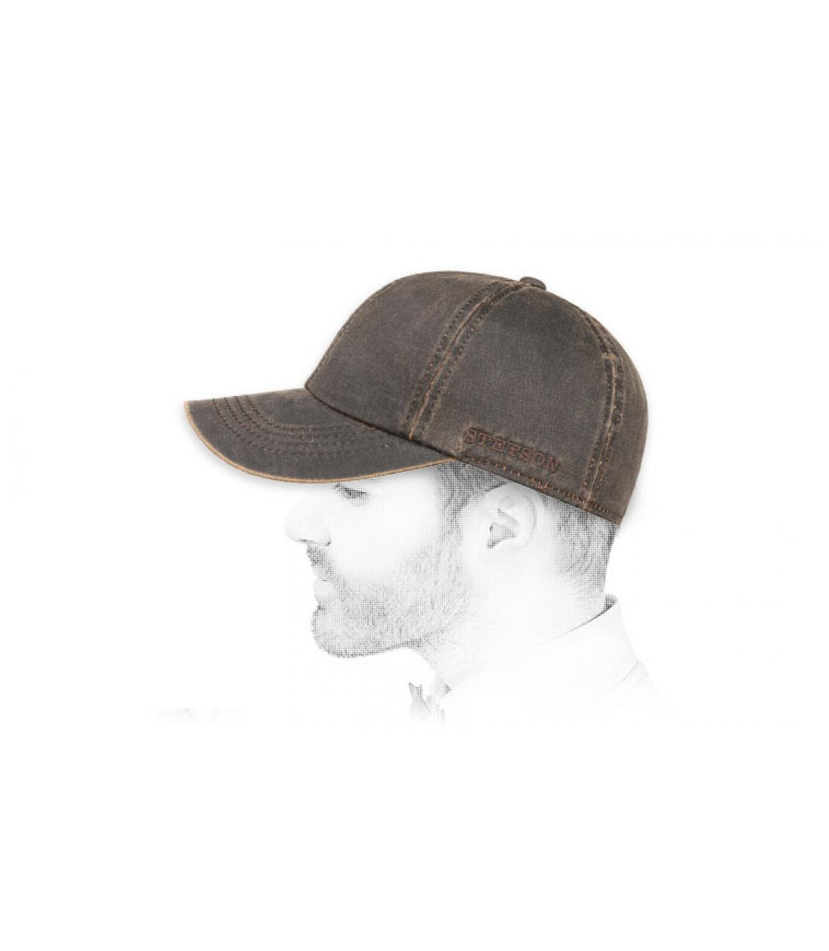 14cfa3557 brown cap