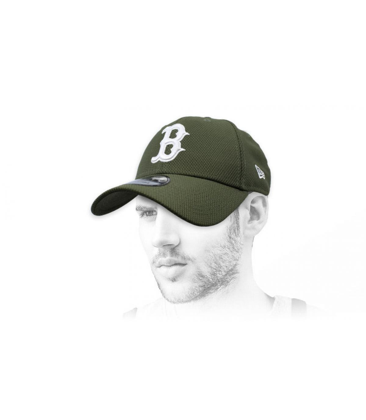 green B cap Diamond