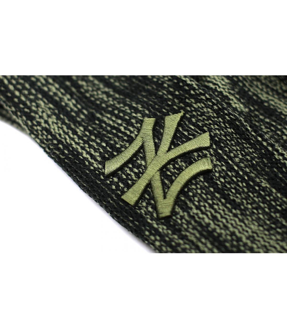 Détails NY Marl Knit black Olive - image 3