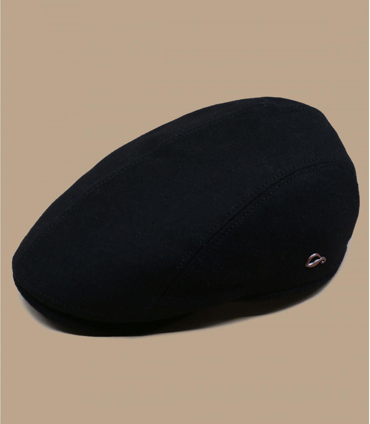 black Gore Tex cap wool