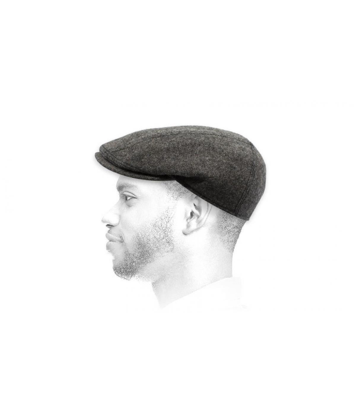 a296f770c78 brown flat cap wool Göttmann