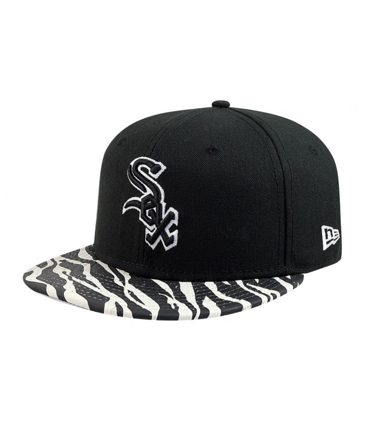 Cap animal visor
