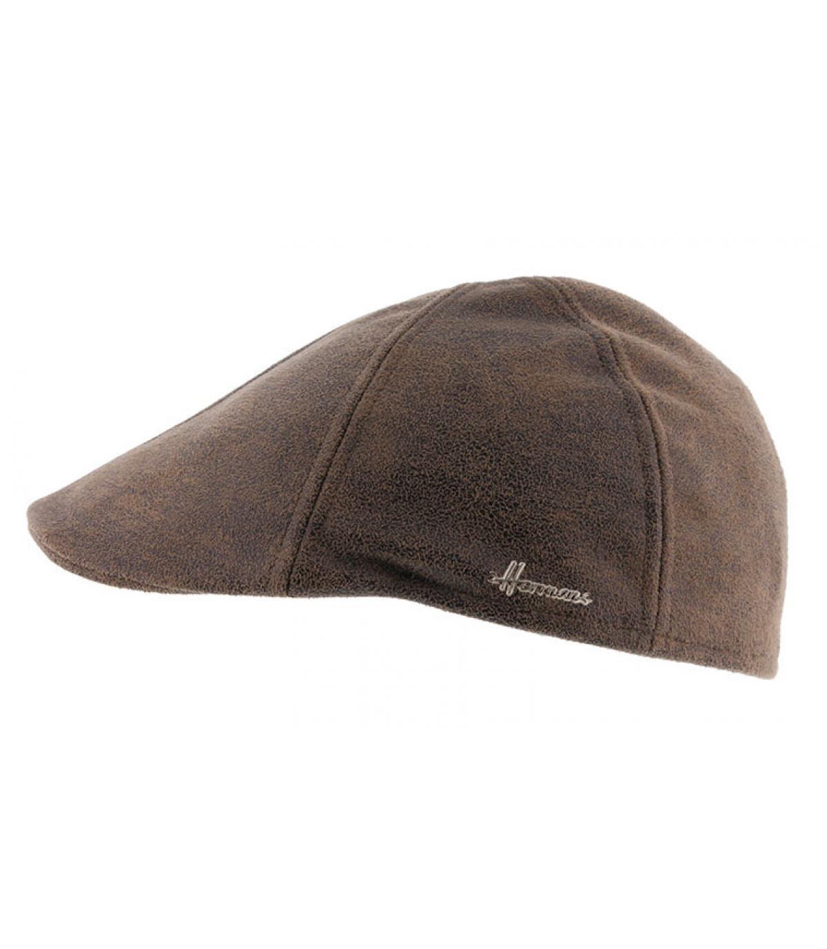 brown duckbill cap