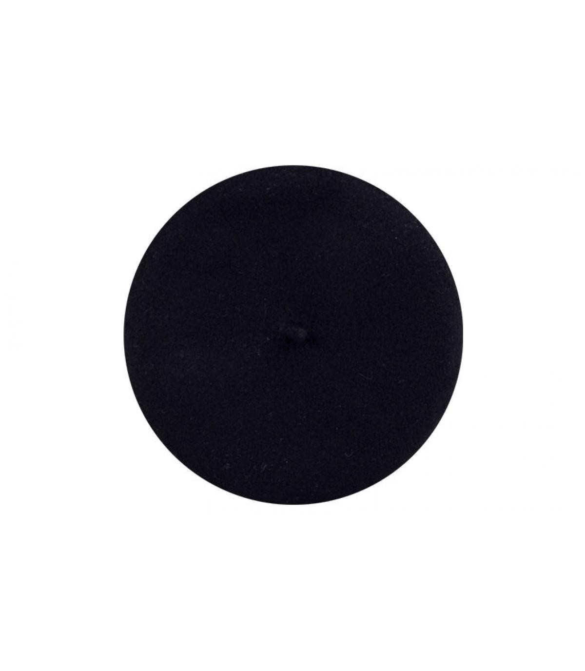 Black paris beret