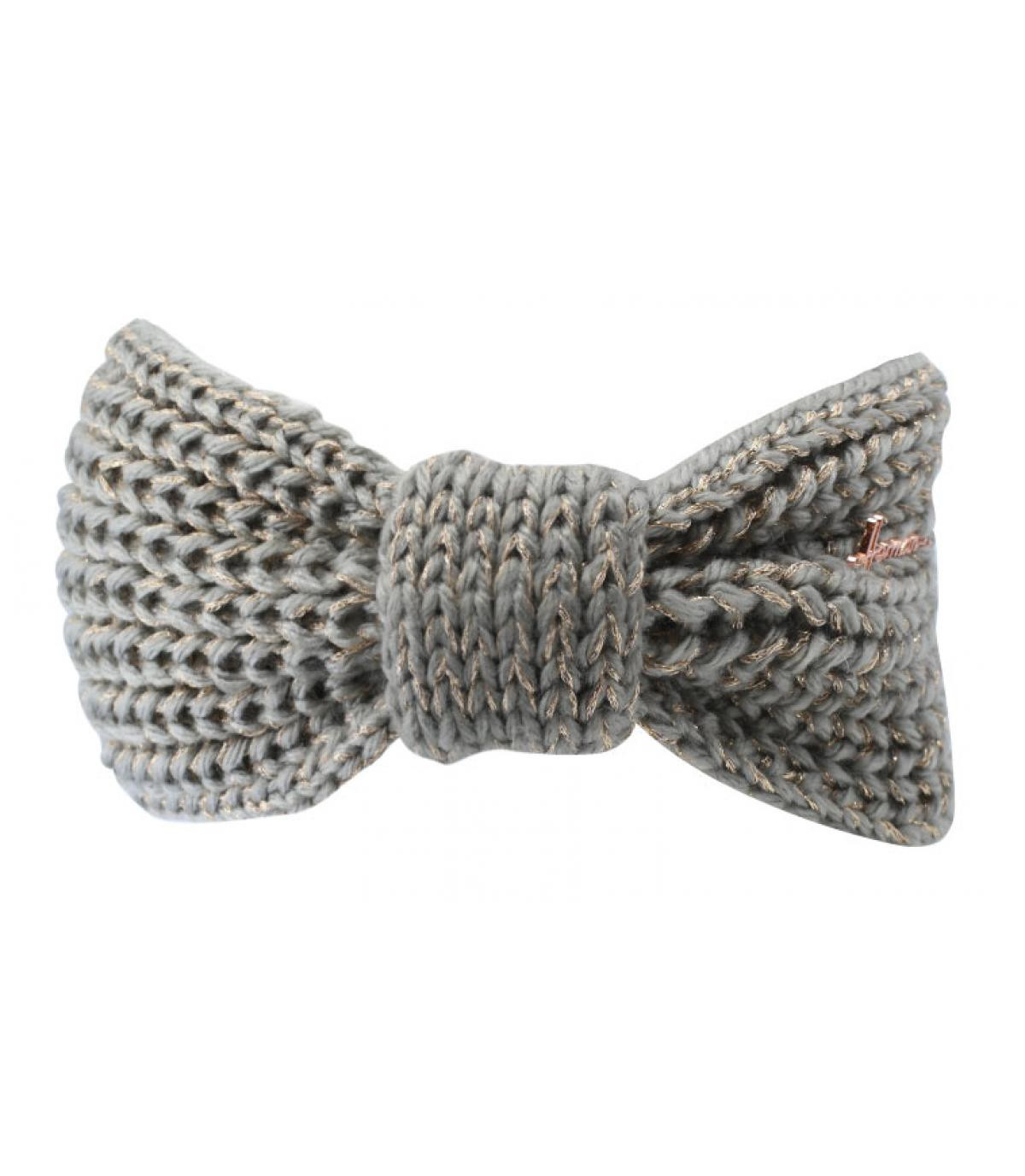 grey woman headband