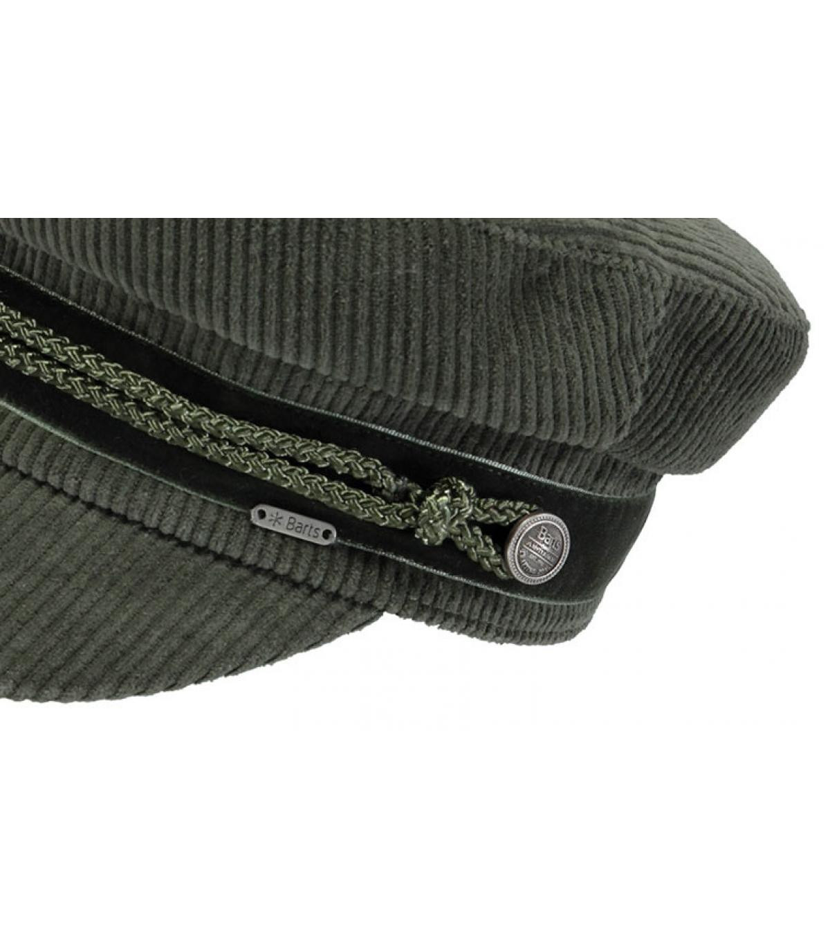 Sailor cap khaki Barts - Odessa Cap army by Barts. Headict b1672883df64