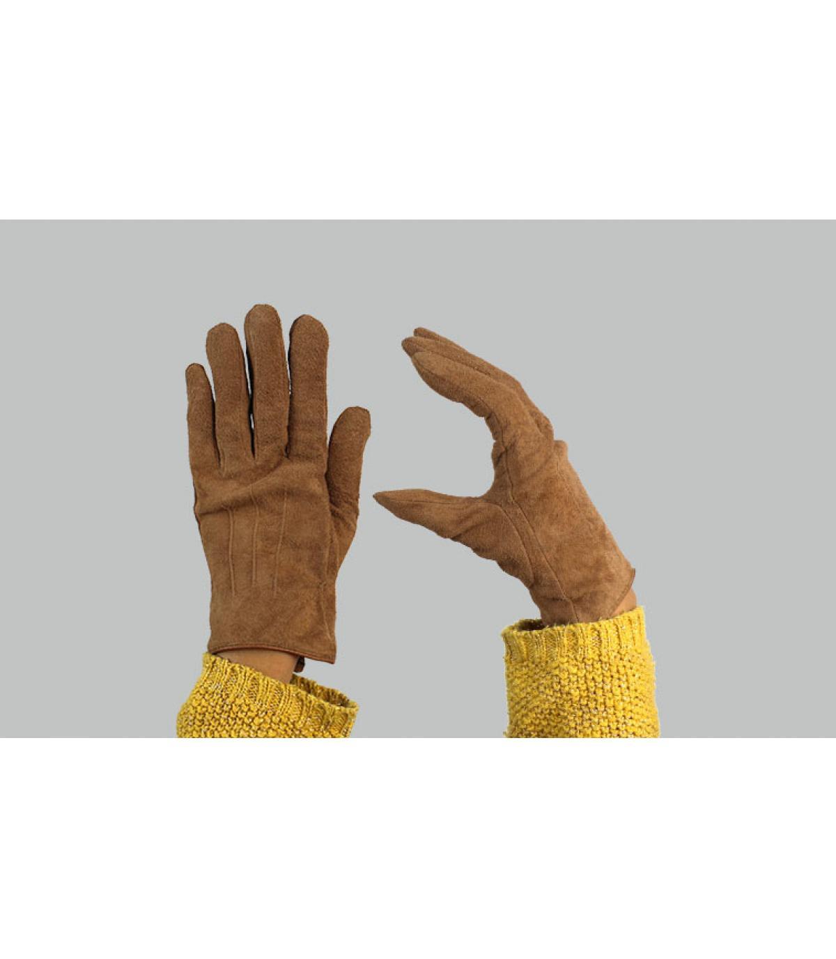 Women gloves brown Barts
