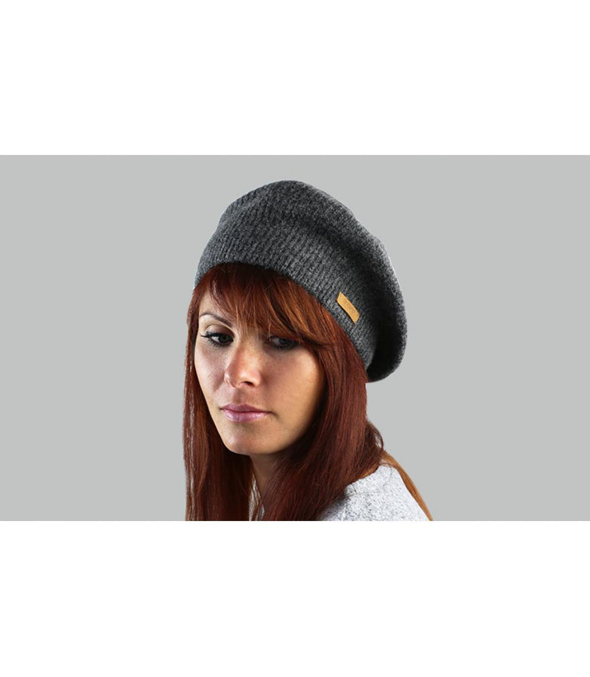 women beret grey Barts