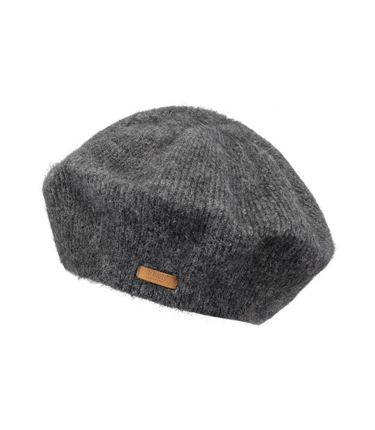 946d0534 women beret grey Barts - Eileen Beret dark heather by Barts. Headict