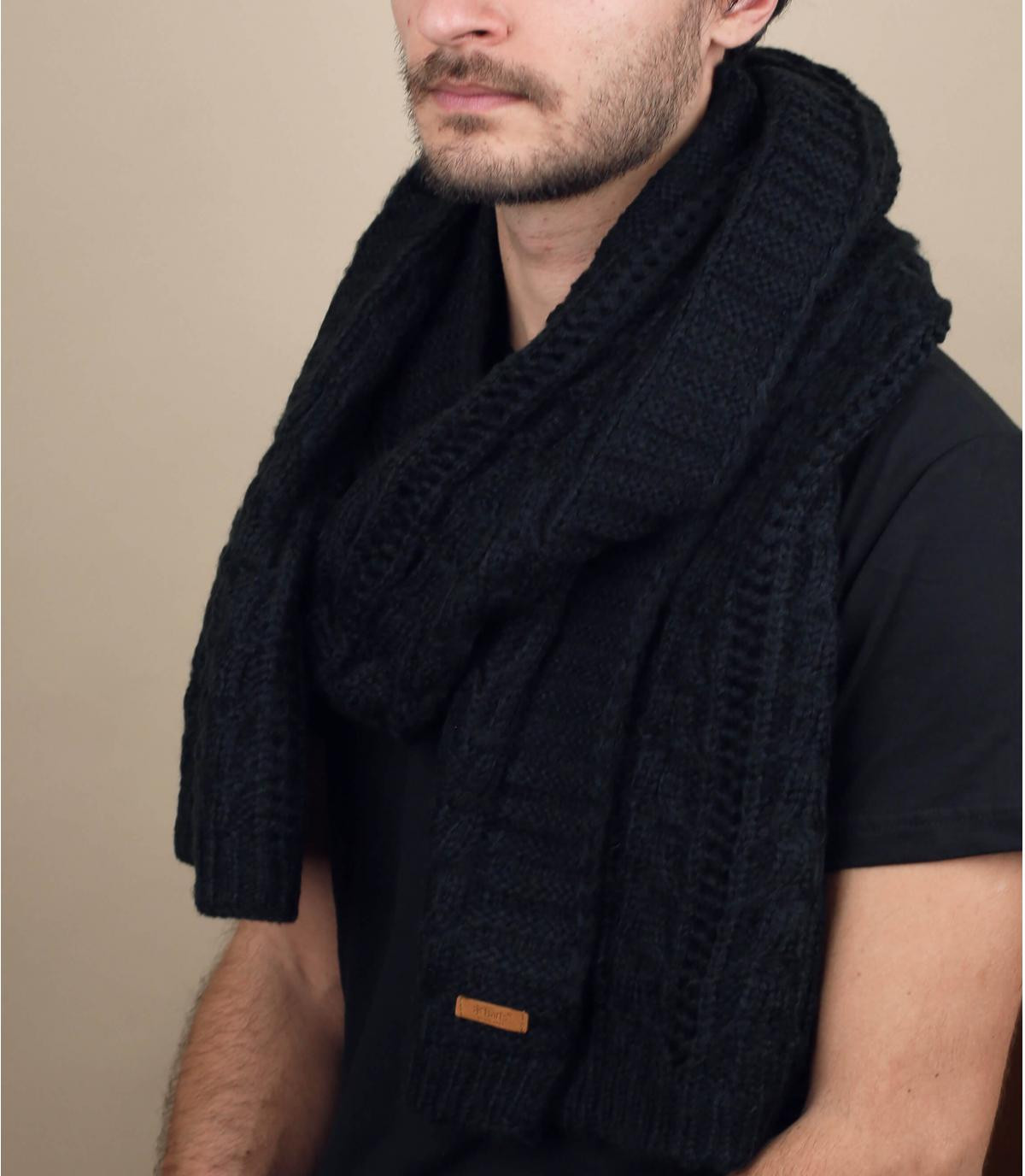 black scarf Barts