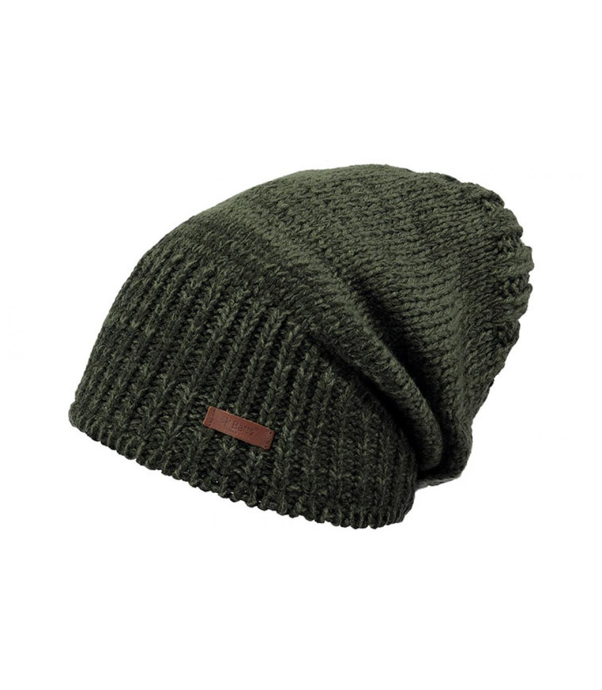 good looking best best loved long beanie faded green - Brighton Beanie army by Barts. Headict