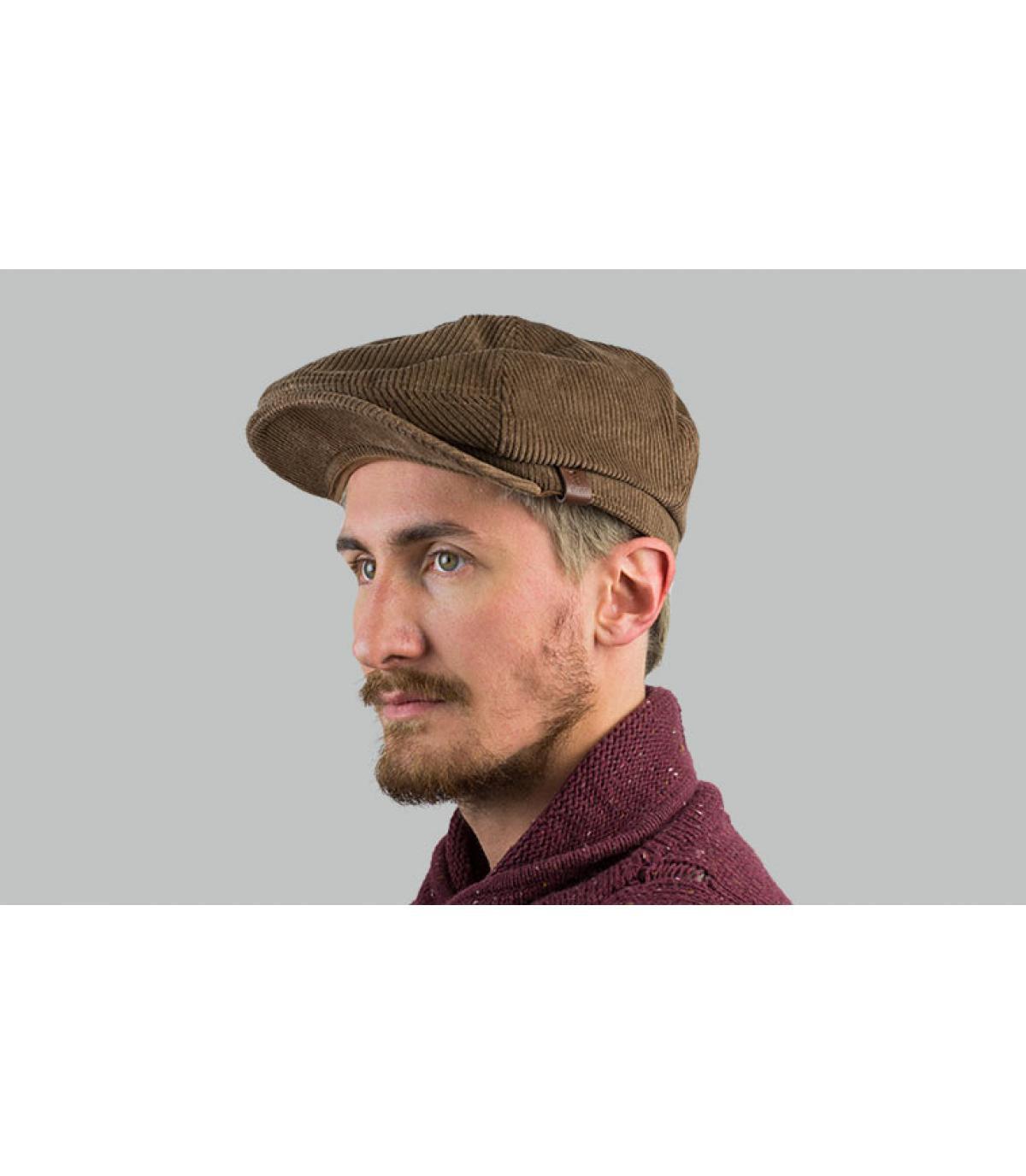 beige flat cap Barts