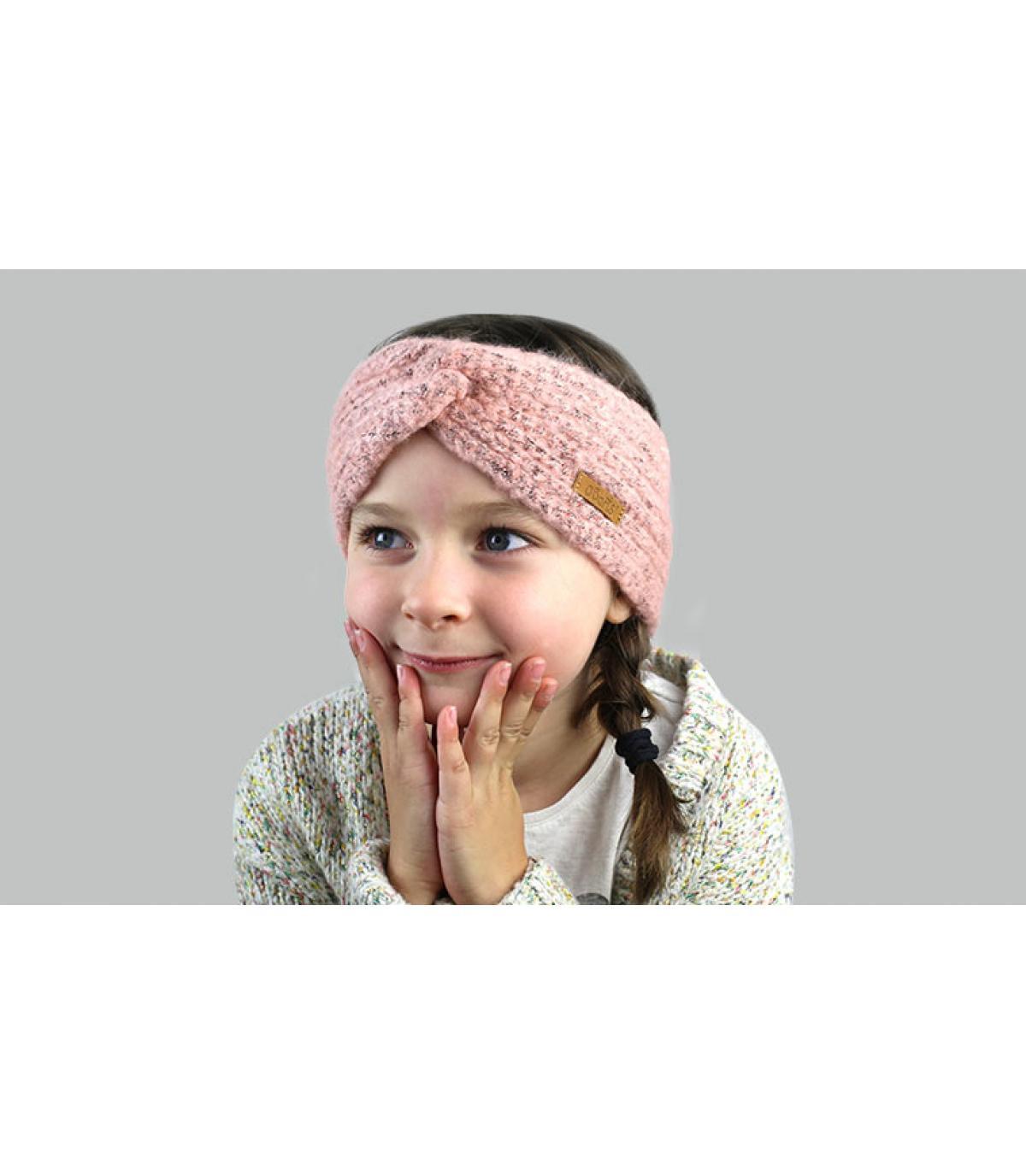 pink child headband