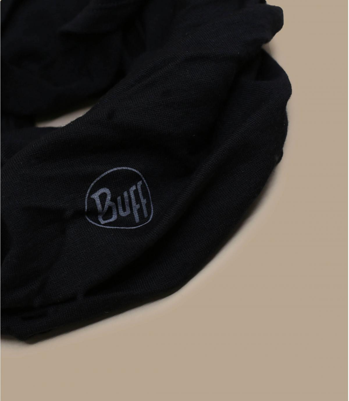 black wool Buff