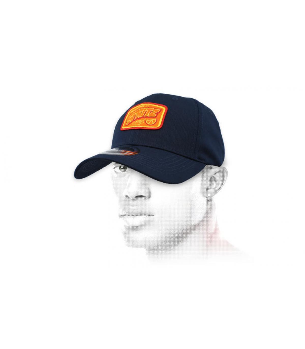 blue Spritz cap