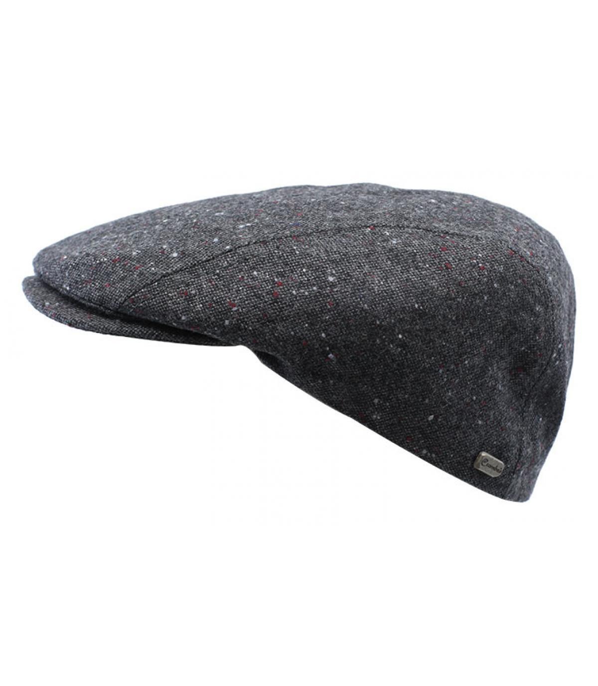 ... heather grey beret - Daffy Glenfi charcoal on your headwear shop  Headict - image 2 ... 489fb2faaa3