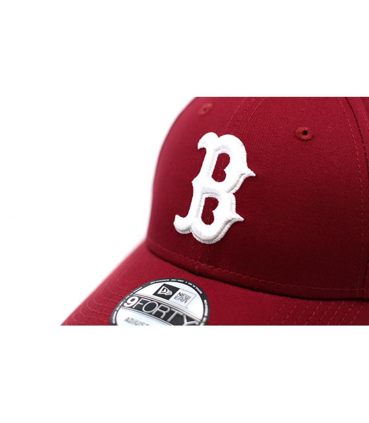 Détails League Ess 9Forty Boston cardinal - image 3