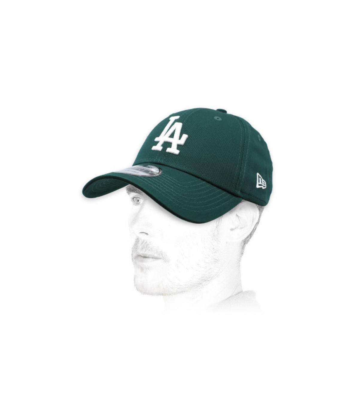 green LA cap