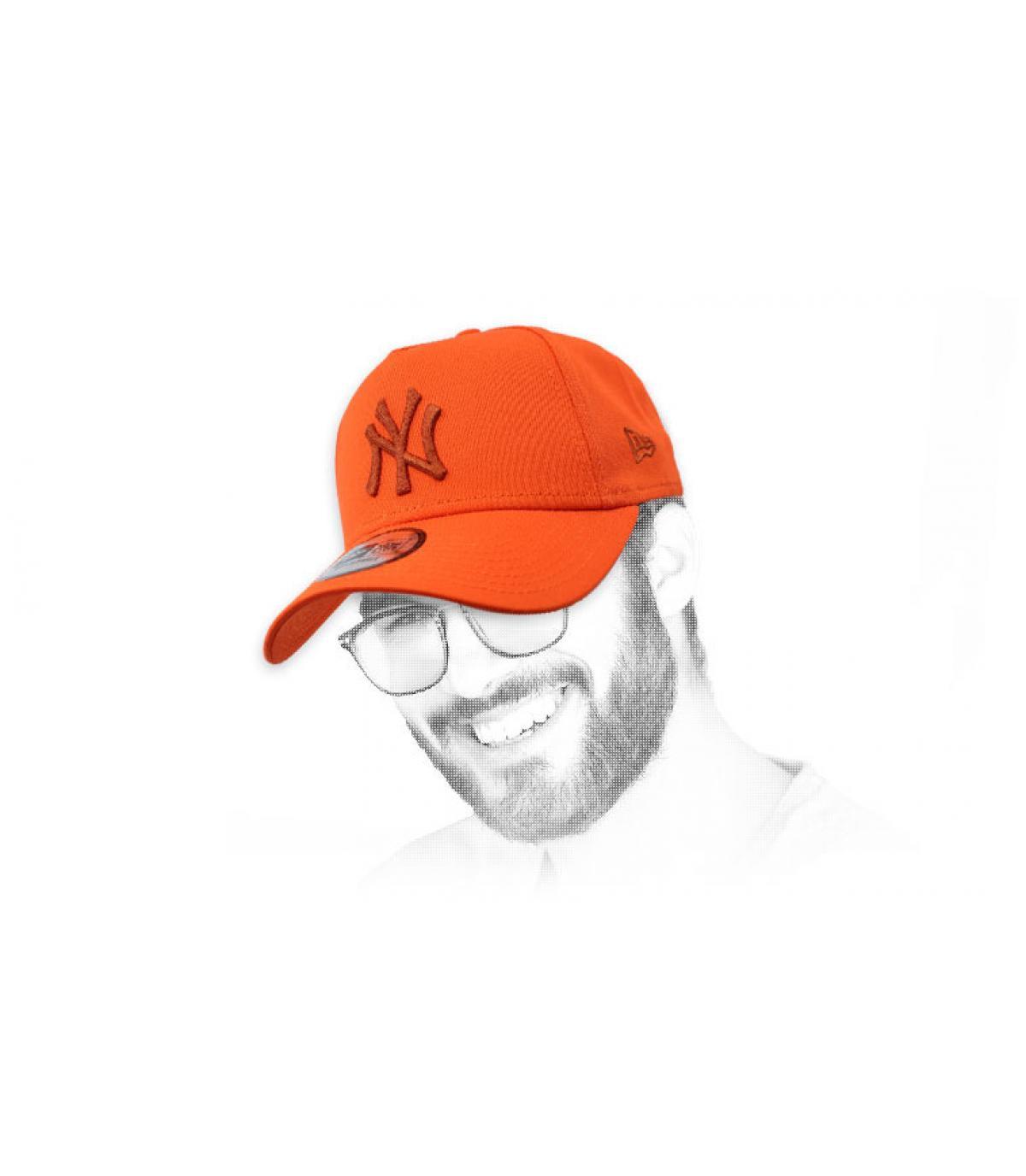 orange NY cap Aframe