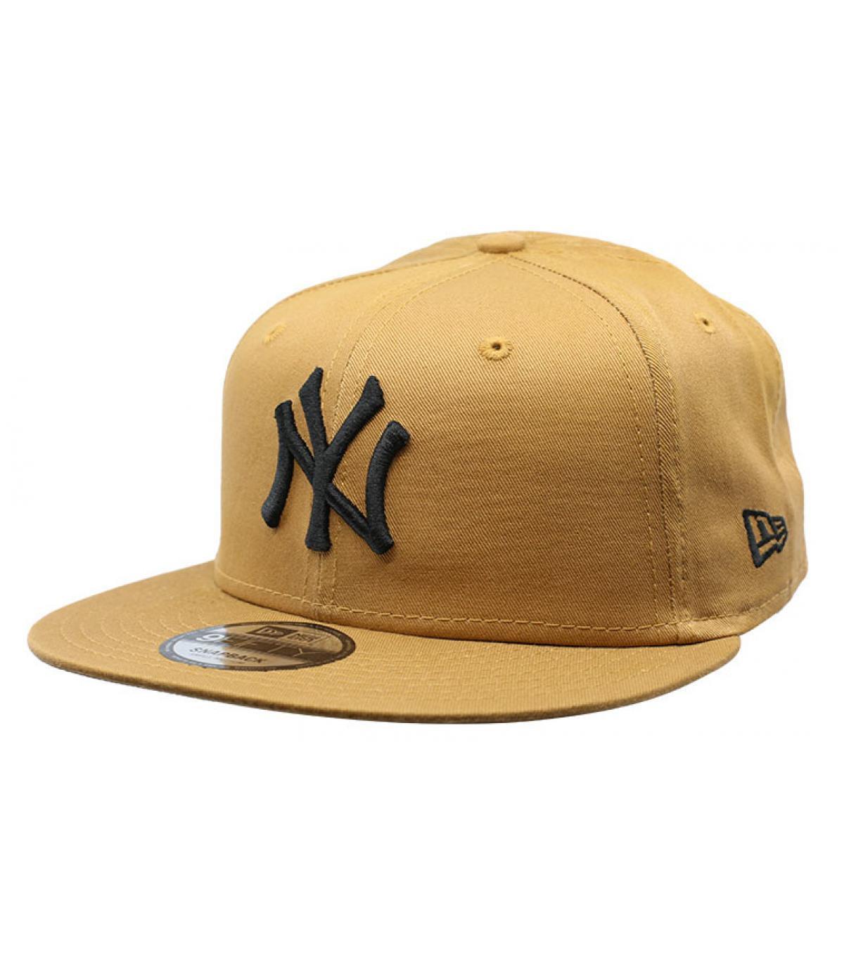 da449f395 League Ess NY 9Fifty wheat black