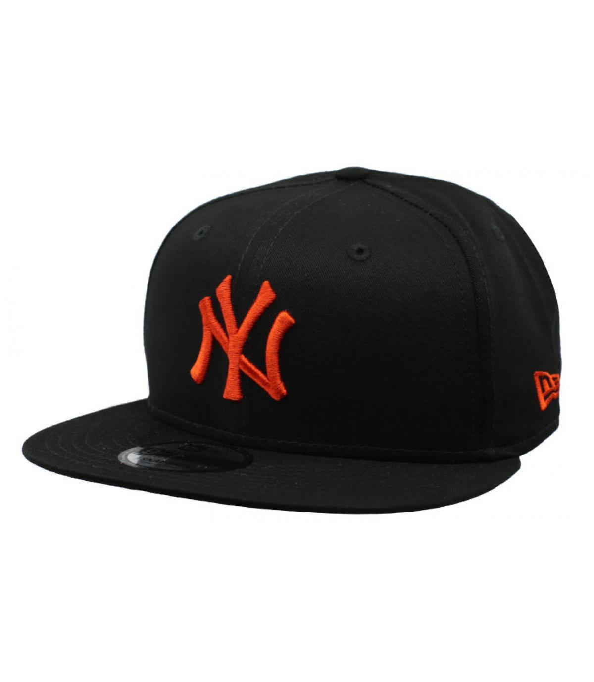 22f1d58e1 League Ess NY 9Fifty black orange