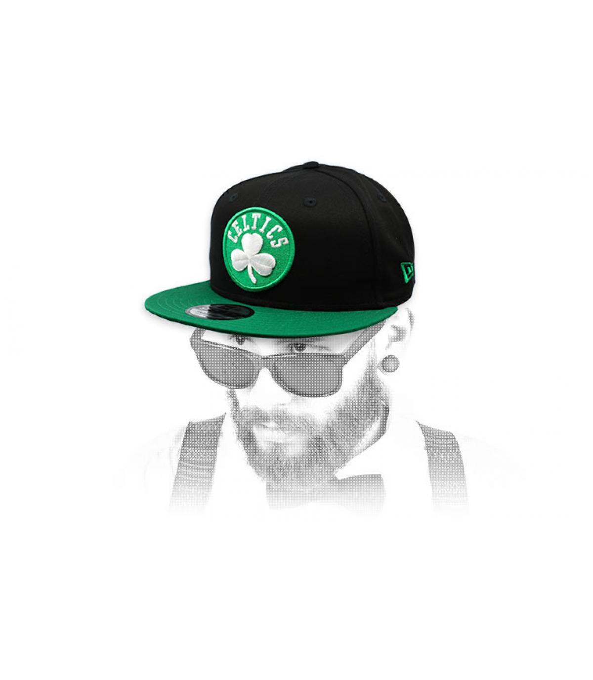black green Celtics snapback