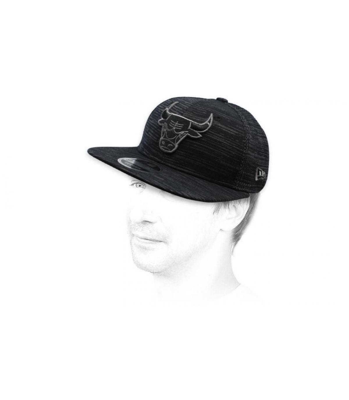 black Bulls snapback Engineered