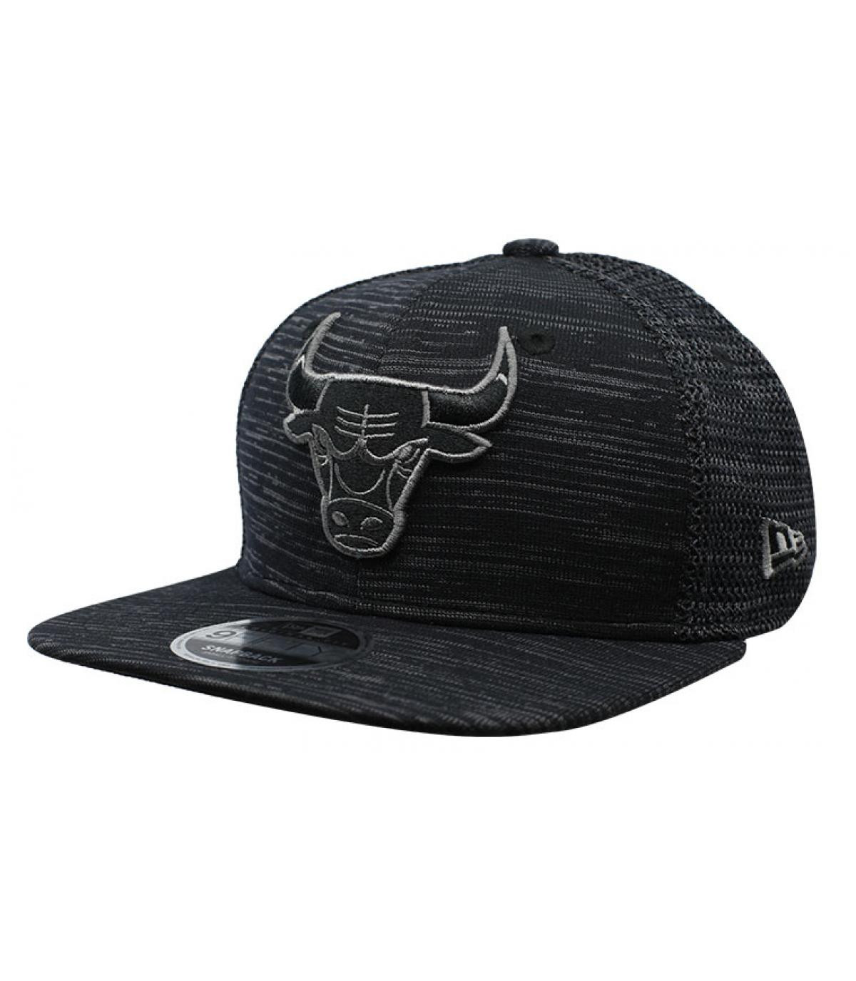 Détails Engineered Fit Bulls 9Fifty black - image 2