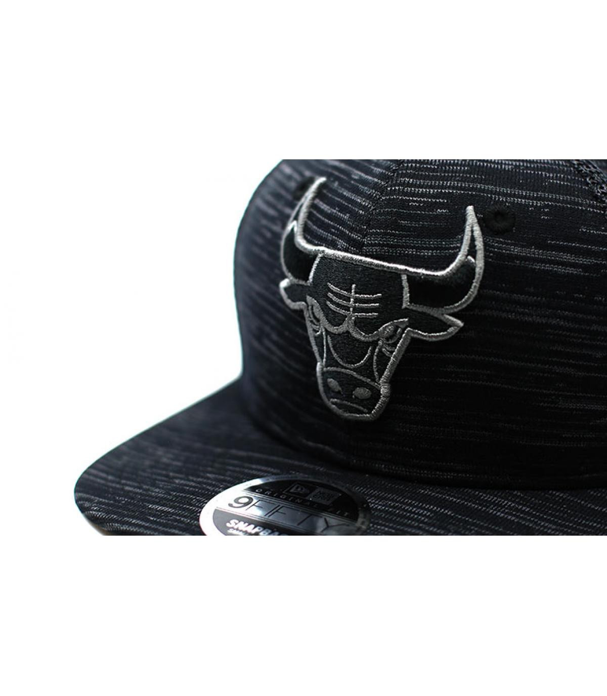 Détails Engineered Fit Bulls 9Fifty black - image 3