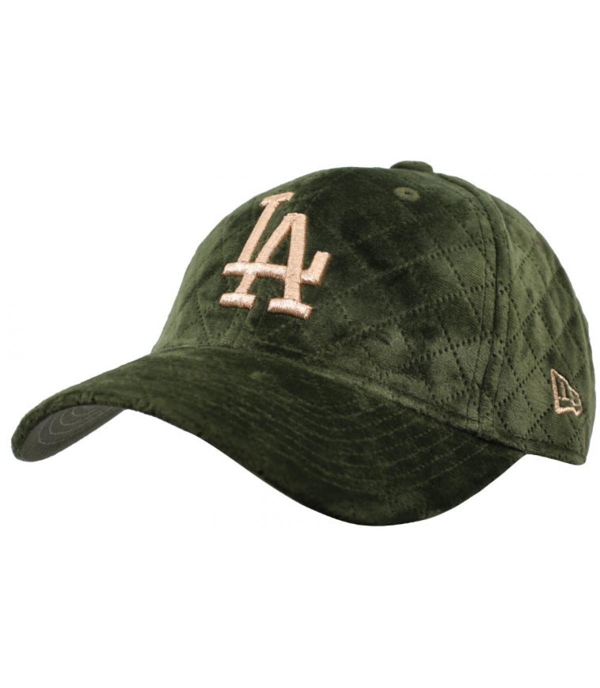 khaki women LA cap