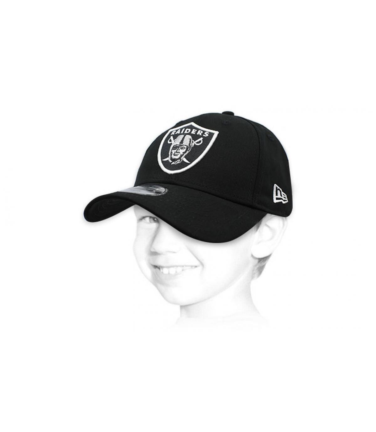 kids Raiders cap black