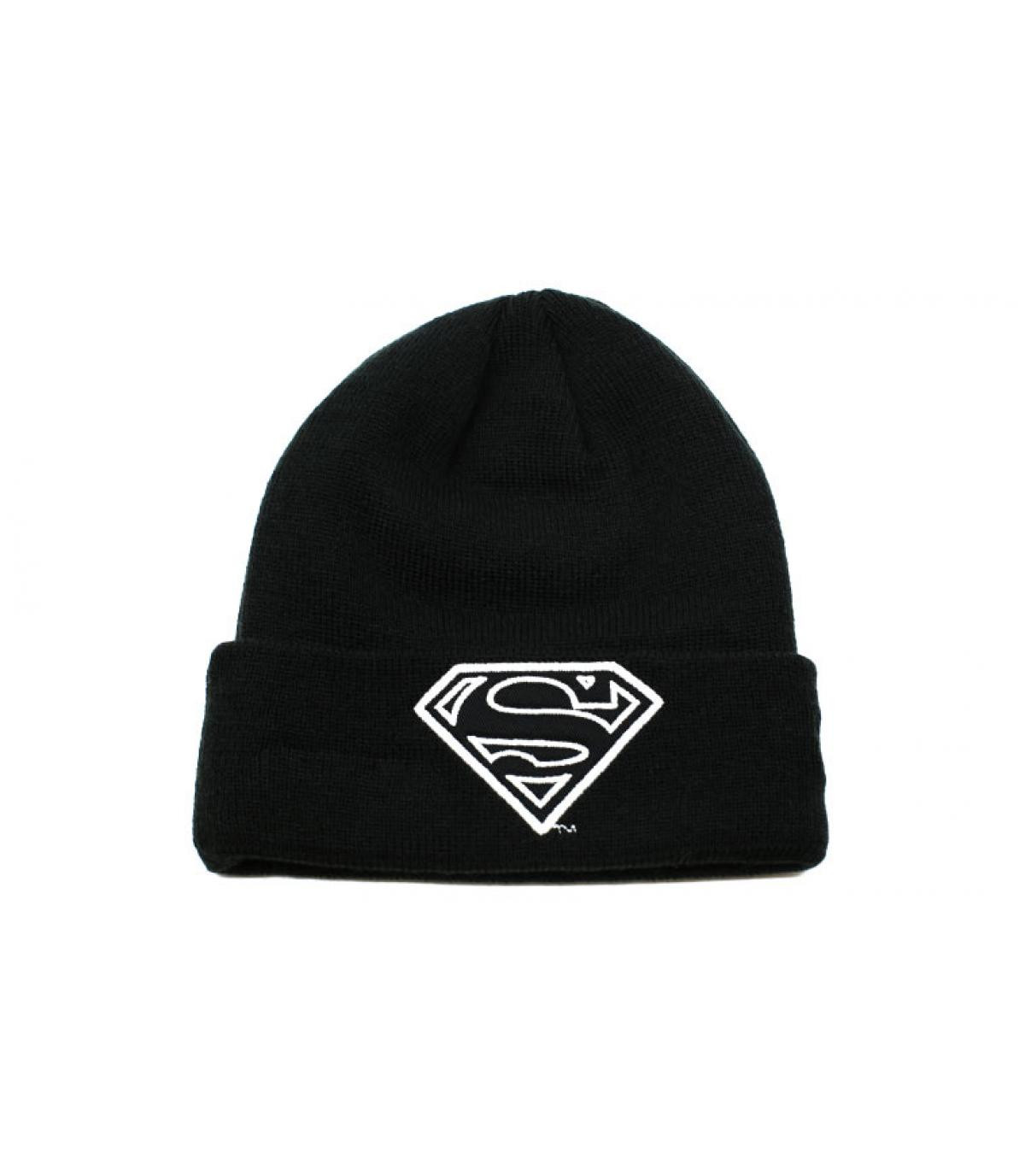 51b9b14a2b8 Superman child glowing beanie - Kids GITD Knit Superman by New Era ...