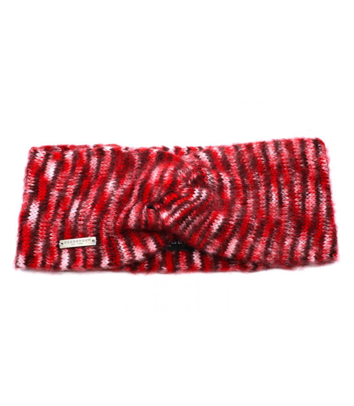 Seeberger burgundy headband