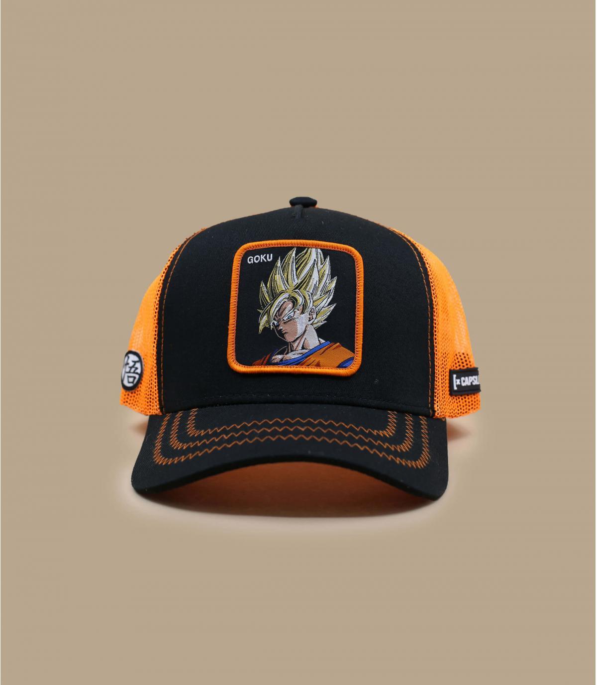 black Son Goku trucker
