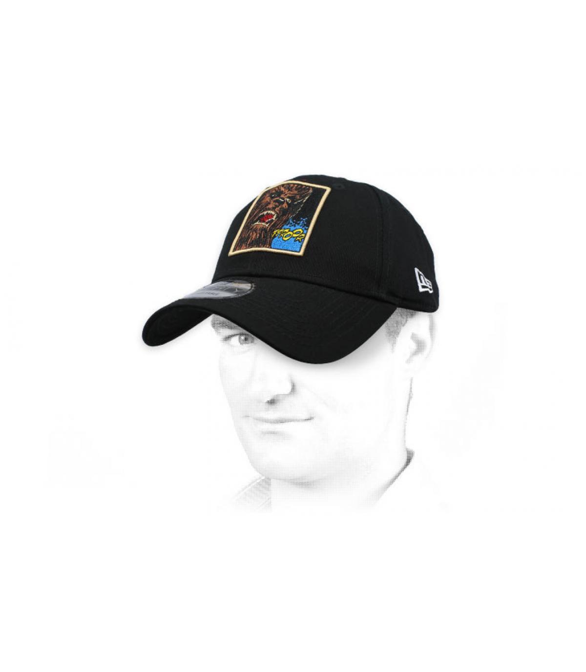 black Chubacca cap