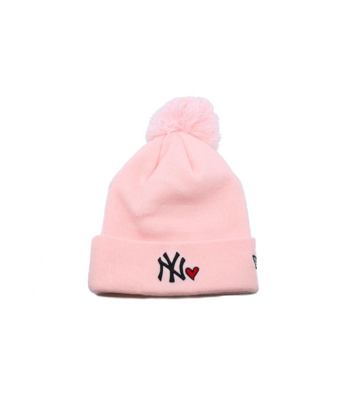 Détails Wmns Heart NY knit pink - image 2