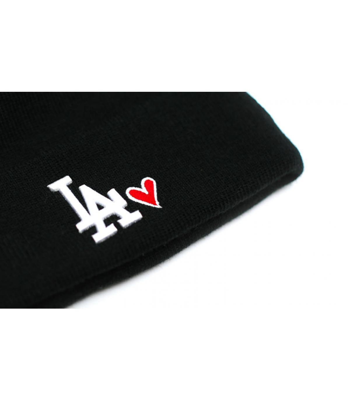 Détails Wmns Heart LA knit black - image 3