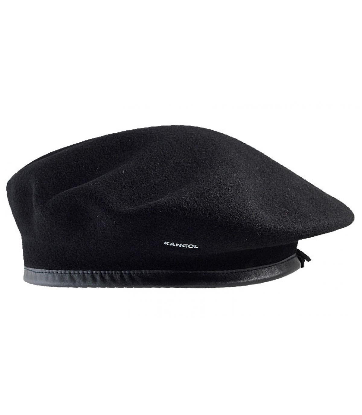 82f4fc1dd242e Monty beret kangol - Wool monty black by Kangol.