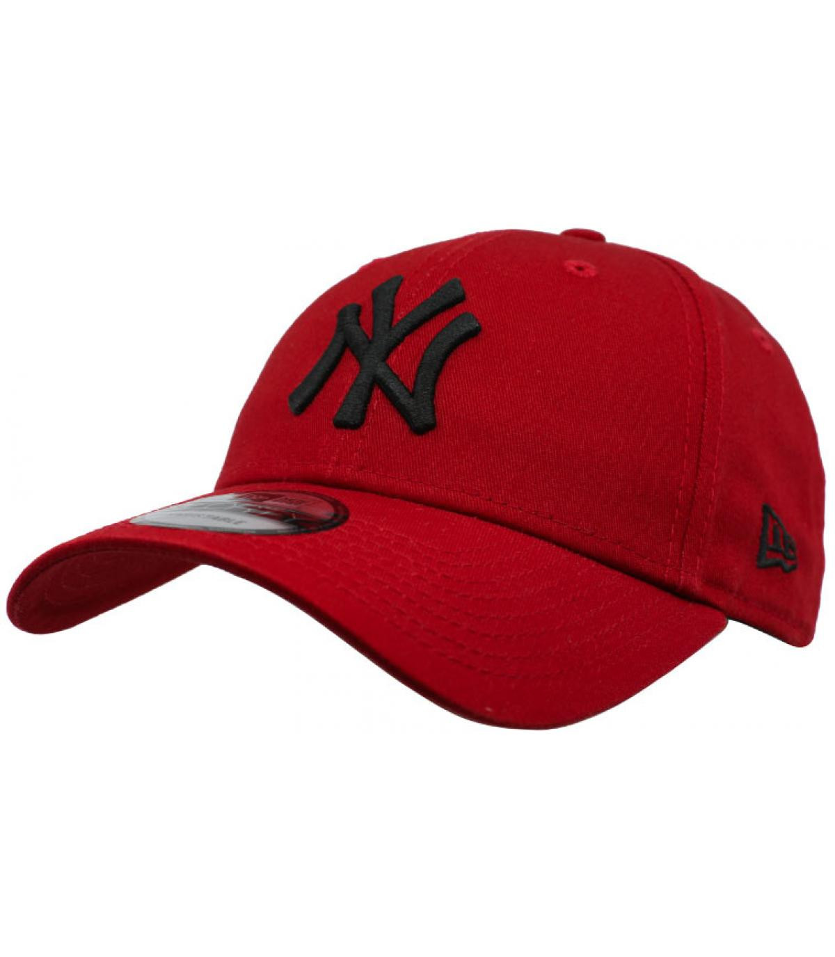 Détails League Ess NY 9Forty hot red black - image 2