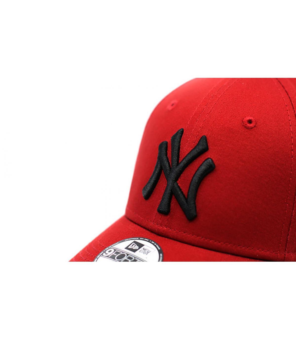 Détails League Ess NY 9Forty hot red black - image 3