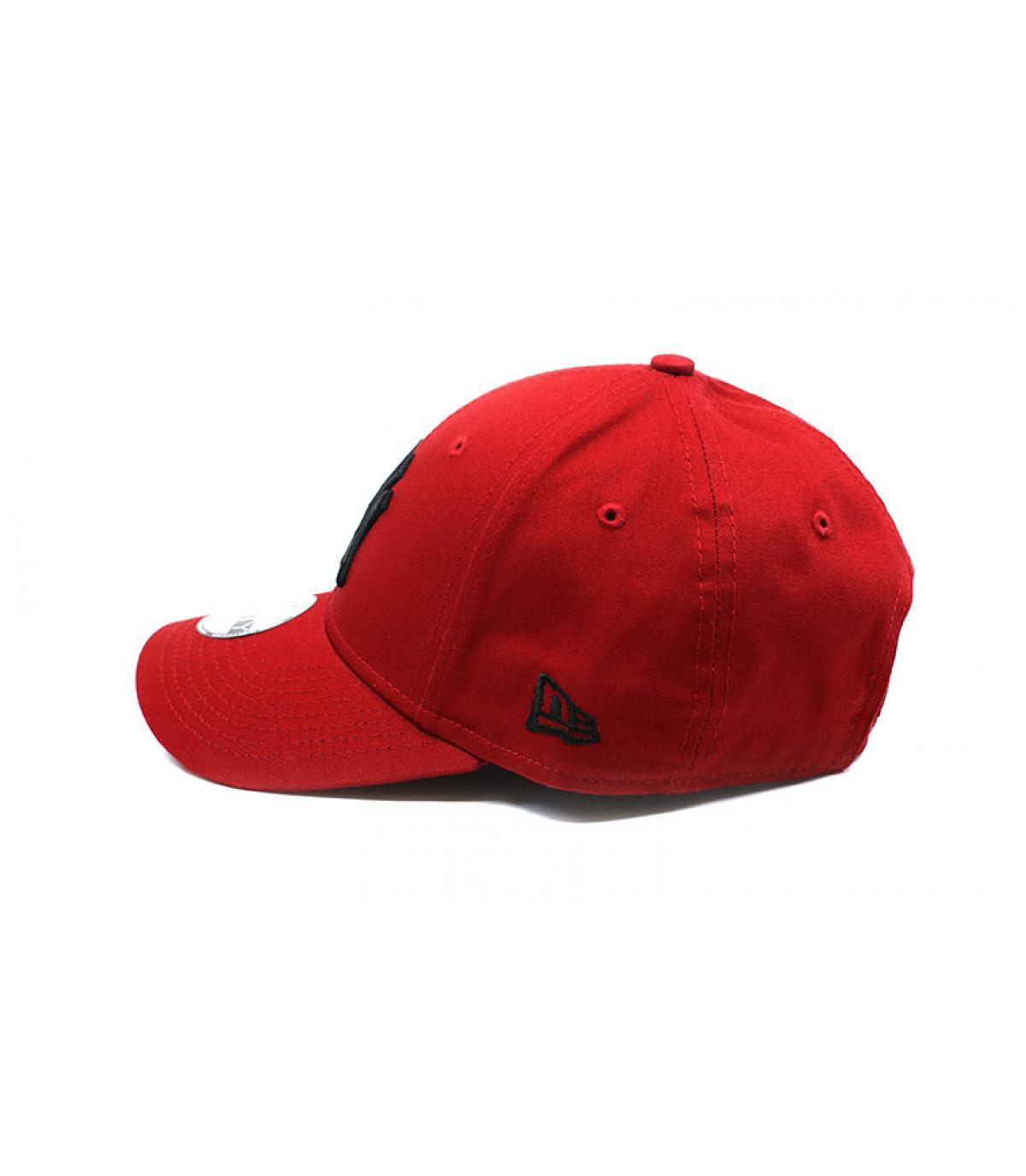 Détails League Ess NY 9Forty hot red black - image 4