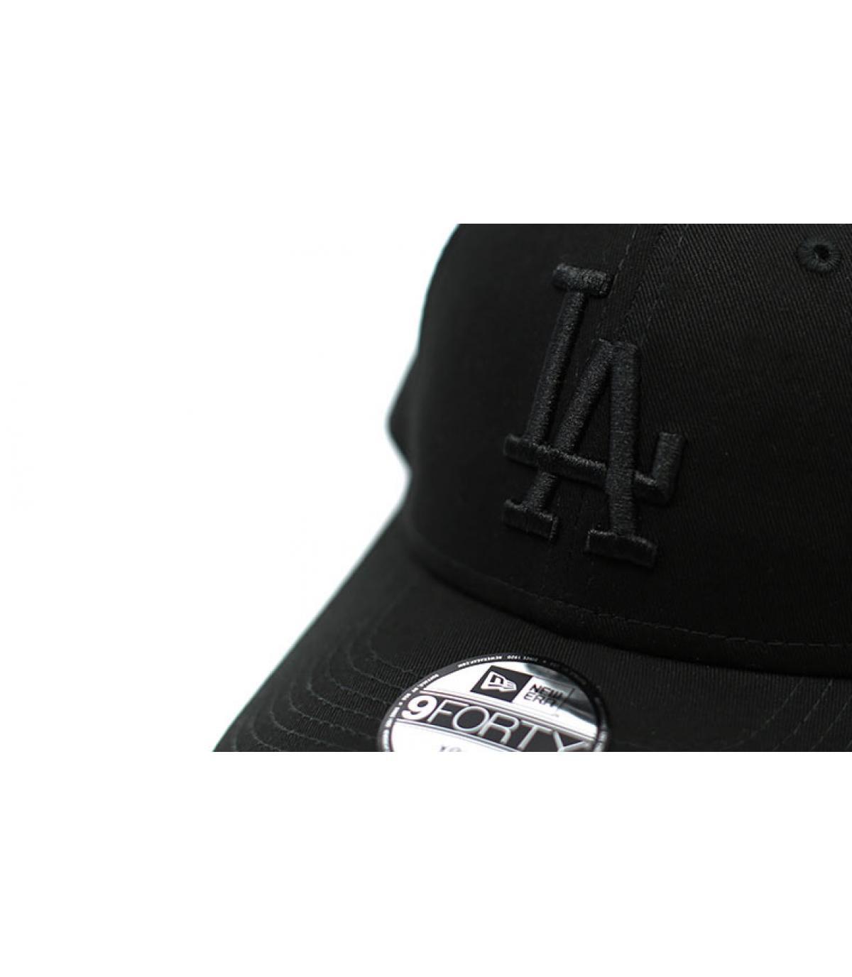 Détails 9Forty LA Snapback black - image 3