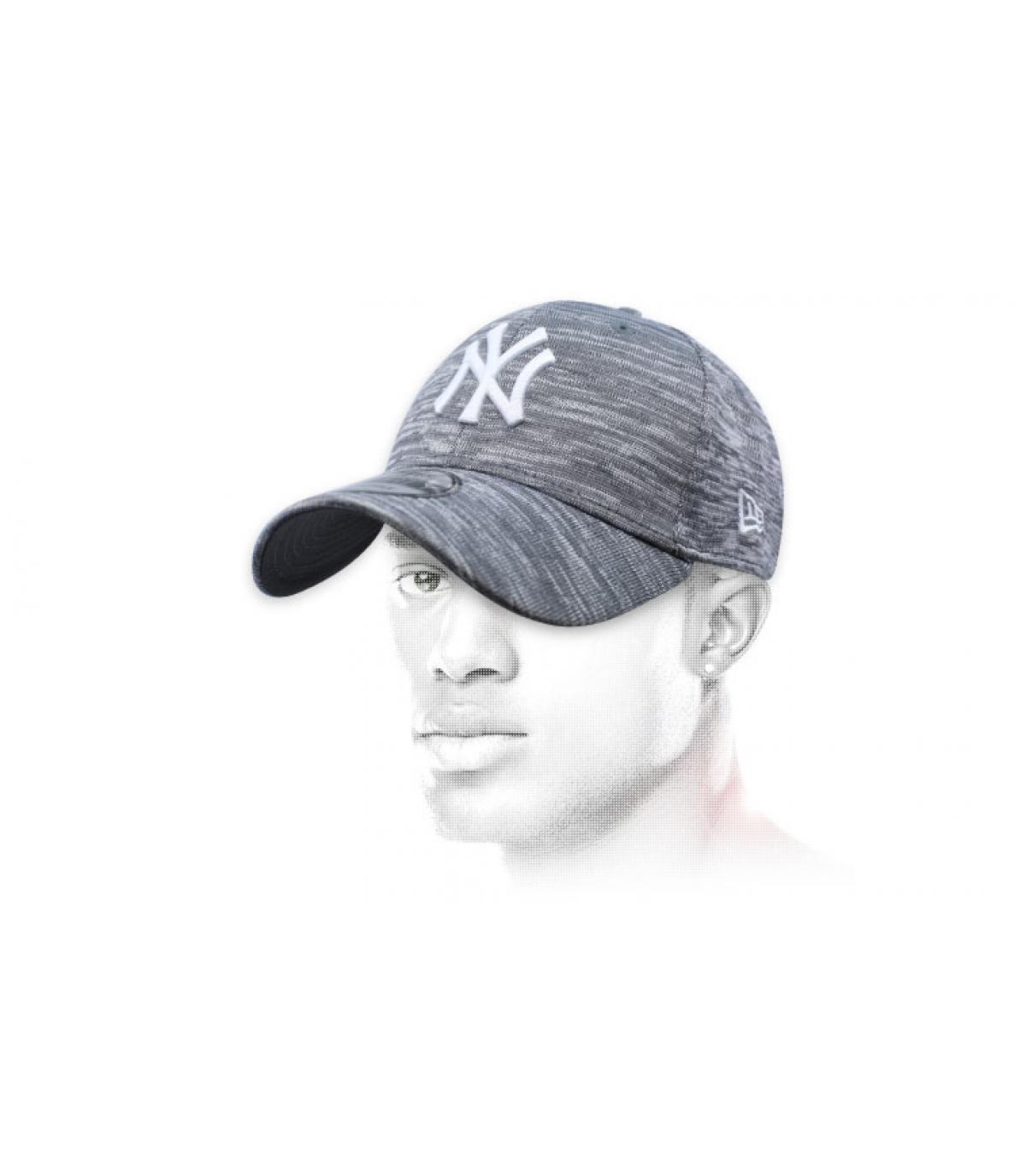 heather grey NY cap Engineered