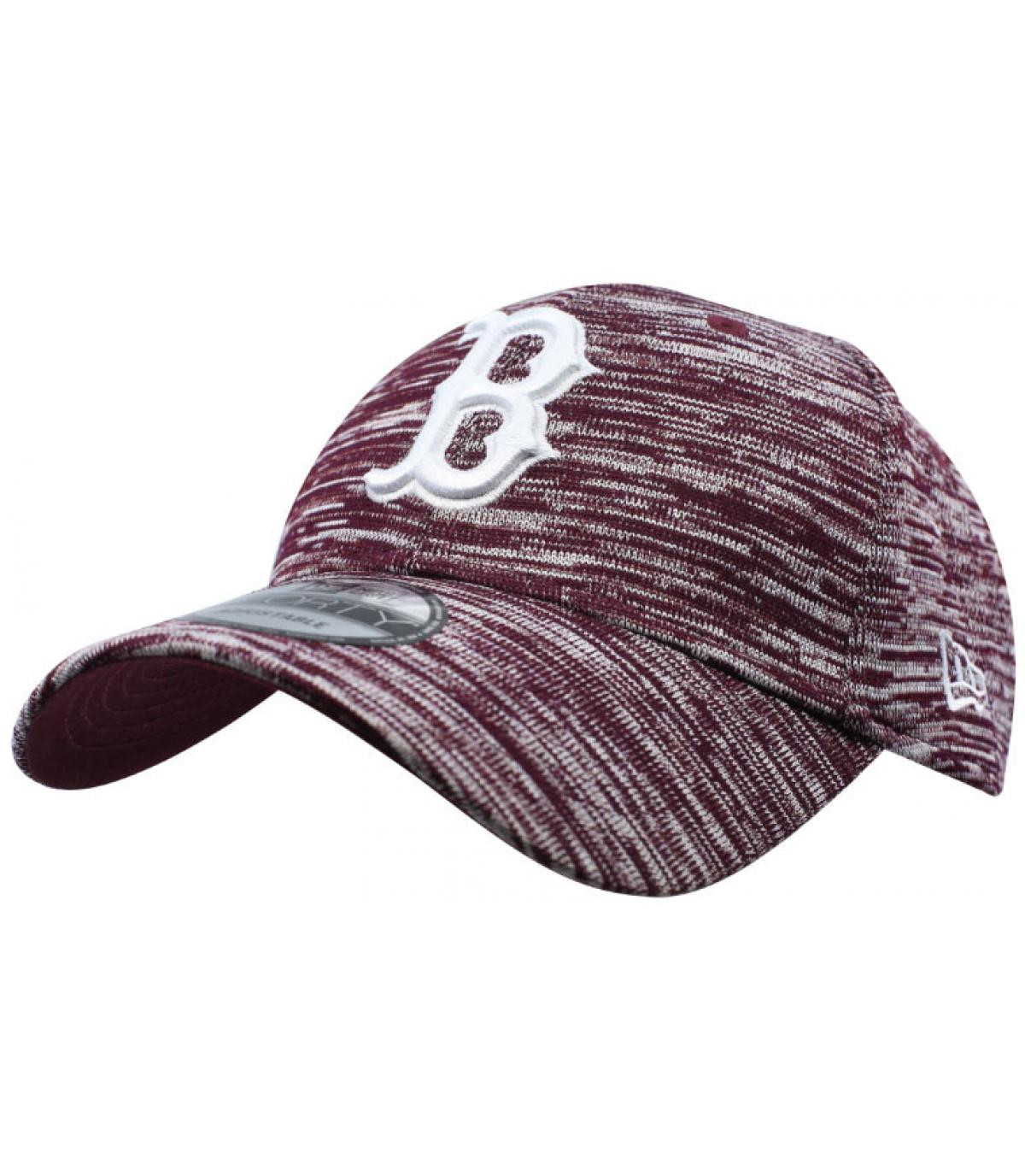 Détails Engineered Fit Boston 9Forty maroon - image 2