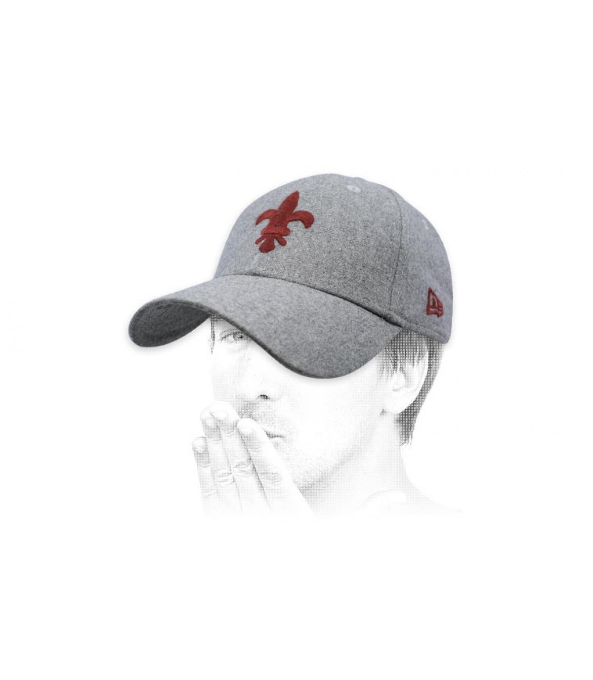 grey St Louis cap