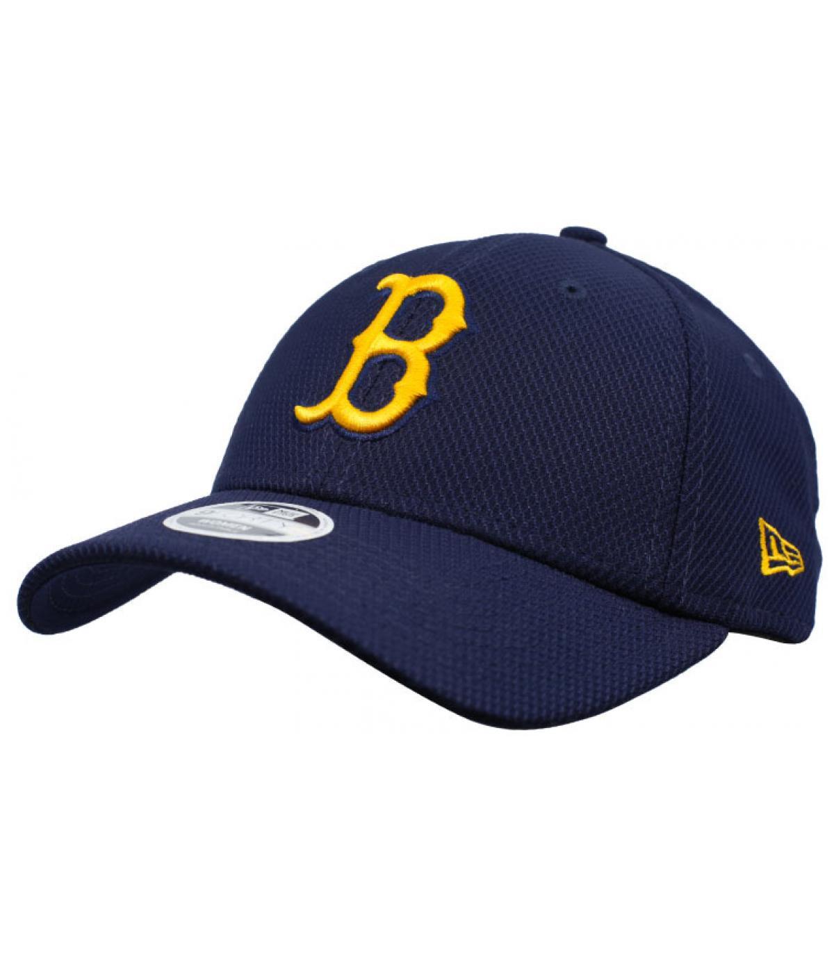 d85eb7d4a68 B women cap blue yellow - Wmns Diamond Era Boston 9Forty navy gold ...