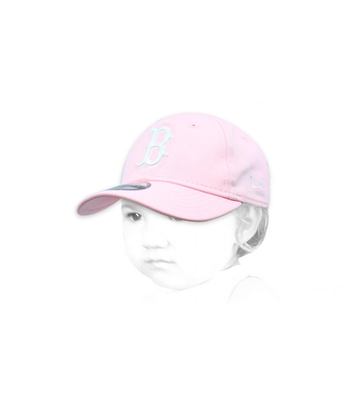 pink baby cap B