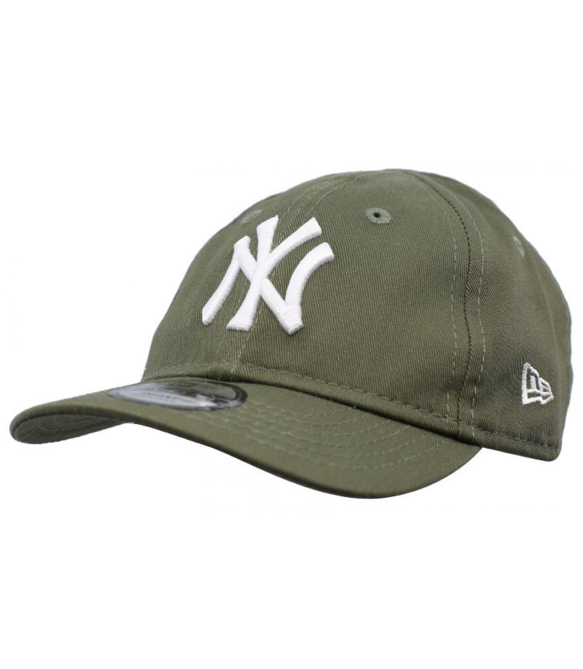 green NY cap baby