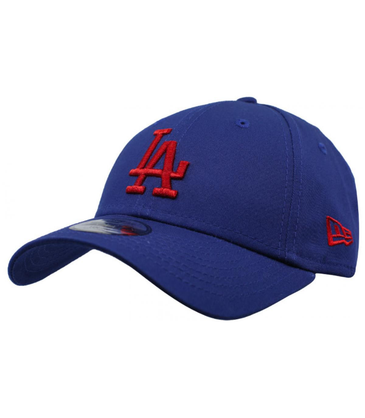 red blue LA child cap