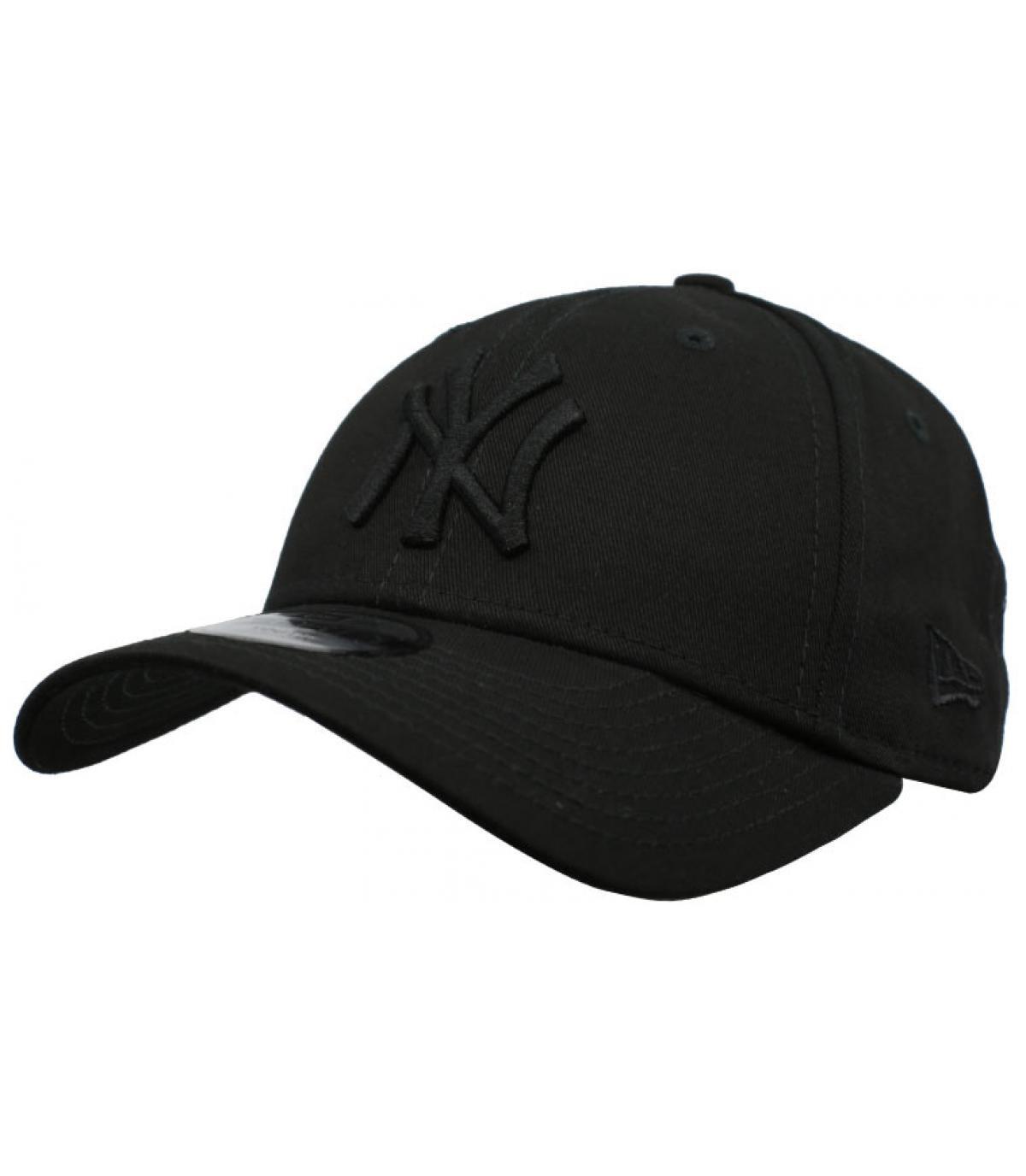 black NY child cap
